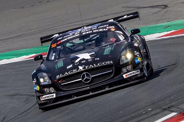 Adam Christodoulou Racing for Team Black Falcon
