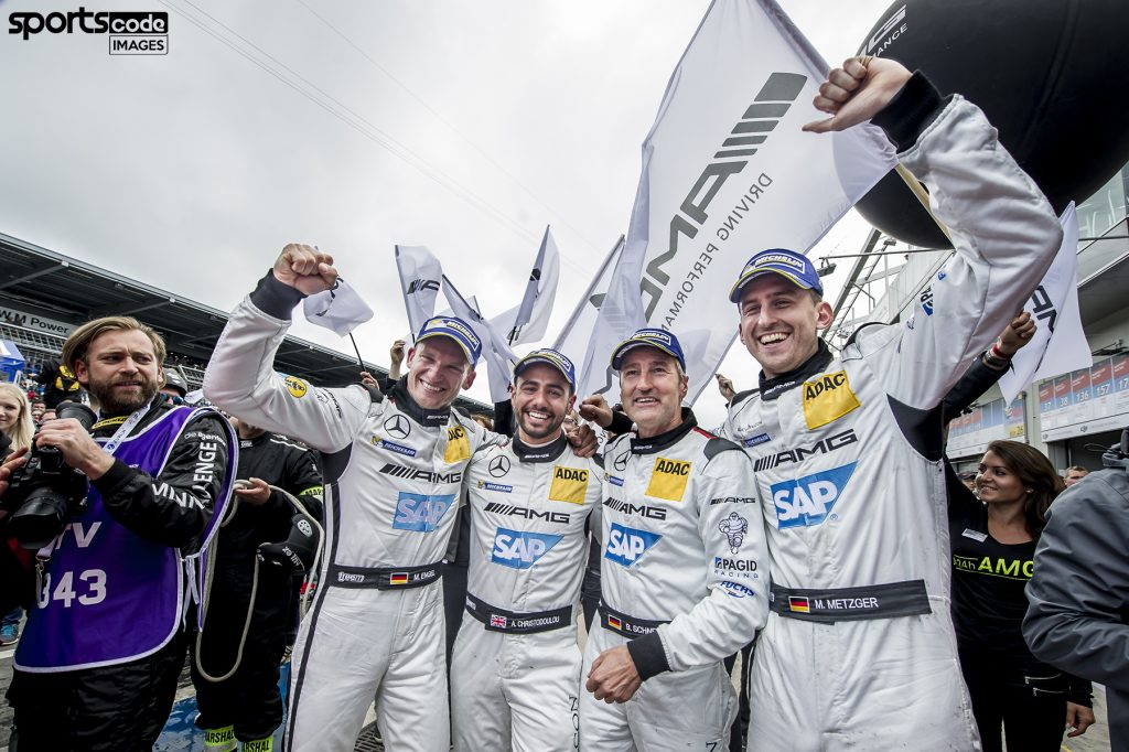Christodoulou wins closest-ever Nürburgring 24 - AdamChristo.com